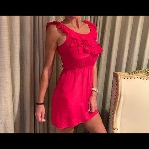 Amanda Uprichard silk ruffle dress